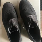 Pantofi barbati din piele BENETTON, mas. 43 2+1 gratis
