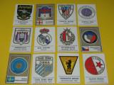 Lot 12 stickere fotbal-embleme (Figurine Panini)
