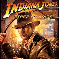 Indiana Jones and the Staff of the kings - Nintendo Wii [Second hand] - Jocuri WII, Actiune, 3+, Multiplayer