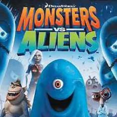 Monsters vs Aliens - Nintendo Wii [Second hand] - Jocuri WII, Actiune, 12+, Multiplayer