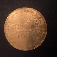 50 Lei 1906 Aur - CAROL I - 16, 13 gr. - Moneda Romania