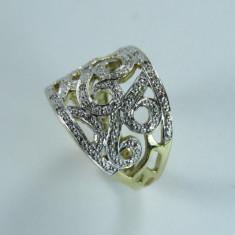 Inel din aur 333 (8kt) - Inel aur, Carataj aur: 9K, Culoare: Galben