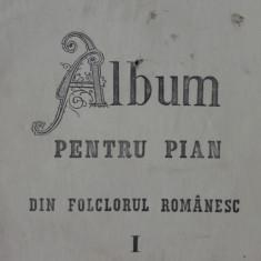 Album pentru pian din folclorul romanesc-Costache N.Palade