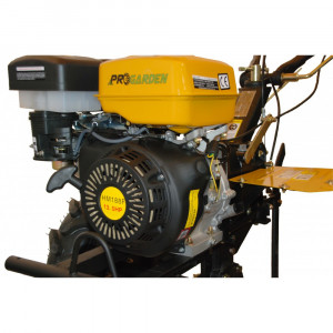 Motosapa ProGARDEN HS 1100D, pe benzina, 13 CP, Cadou Roti cauciuc