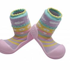Attipas Attibebe, roz - Pantofi copii Attipas, Marime: 19, 20, 21.5, 22.5, Fete, Textil