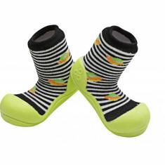 Attipas UFO, negri - Pantofi copii Attipas, Culoare: Negru, Marime: 19, 20, 21.5, 22.5, Baieti, Textil