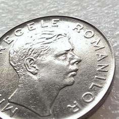 100 LEI 1943-MIHAI I REGE-VARIANTA CU RIDURI - Moneda Romania