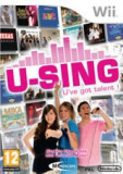 U Sing  - Nintendo Wii [Second hand], Board games, Toate varstele, Multiplayer