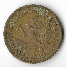 Moneda 1 franc 1926 - Camerun, Africa