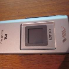 mini radio portabil aiwa CR - LD76 FULL DIGITAL DSL FM radio sony corporation