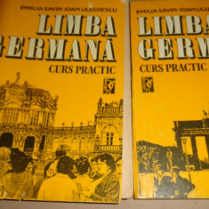 Limba germana curs practic 2 vol./an 1990/880pag- Savin / Lazarescu - Curs Limba Germana