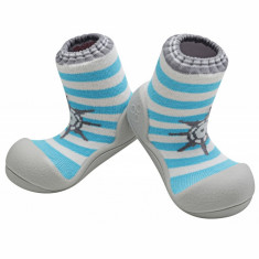Attipas Marine, bleu - Pantofi copii Attipas, Marime: 19, 20, 21.5, 22.5, Baieti, Textil