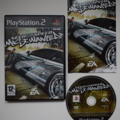 Need For Speed Most Wanted - Joc PS2 Playstation 2 - Jocuri PS2 Ea Games
