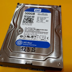 123S.HDD Hard Disk Desktop, 500GB, Western Digital, 7200Rpm, 16MB, Sata III, 500-999 GB, SATA 3