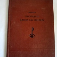 Carte limba engleza, din 1934, Berlitz Illustrated Book for Children - Curs Limba Engleza