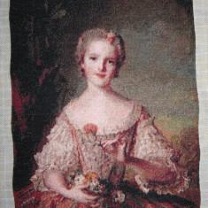 "Goblen ""Louise de France"", 20 x 25 cm, 49 culori, nou, niciodata inramat."
