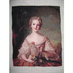 Goblen Louise de France, 20 x 25 cm, 49 culori, nou, niciodata inramat.