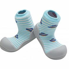Attipas UFO, bleu - Pantofi copii Attipas, Marime: 19, 20, 21.5, 22.5, Baieti, Textil