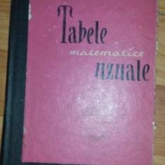 Tabele matematice uzuale (Editura Tehnica) - Carte Matematica