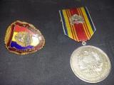 Medalie 1972,insigna Militara,set medalie si insigna militara,Tp.GRATUIT