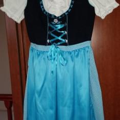 COSTUM POPULAR GERMAN, CALITATE SUPERIOARA. - Costum populare, Marime: 36, Culoare: Bleu