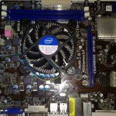 Kit placa de baza Asrock LGA 1155 + Procesor Intel G620T / DDR3 / 2, 20 ghz (L2), Pentru INTEL, Contine procesor, MicroATX