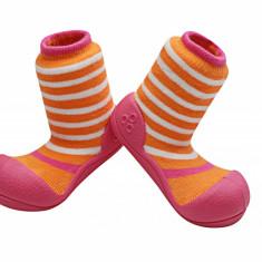 Attipas Ringle cu ciorăpel gros, fucsia - Pantofi copii Attipas, Culoare: Fuchsia, Marime: 20, 21.5, 22.5, Fete, Textil