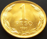 Moneda 1 Peso - CHILE, anul 1990  *cod 787 - UNC din fasic