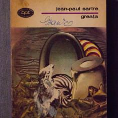 Jean-Paul Sartre - Greața - Roman