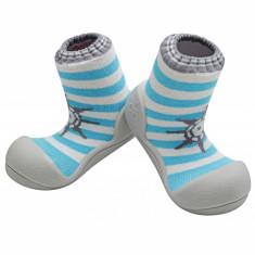 Attipas Marine XL-XXL, bleu - Pantofi copii Attipas, Marime: 24, 25.5, Baieti, Textil