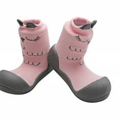 Attipas Cutie, roz - Pantofi copii Attipas, Marime: 20, 21.5, 22.5, Fete, Textil