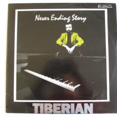 Disc vinil Eurostar 1992 Mircea Tiberian :Never Ending Story,stare foarte buna