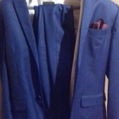 Super oferta - Costum barbati Active Wear, Marime: 48, Culoare: Bleumarin