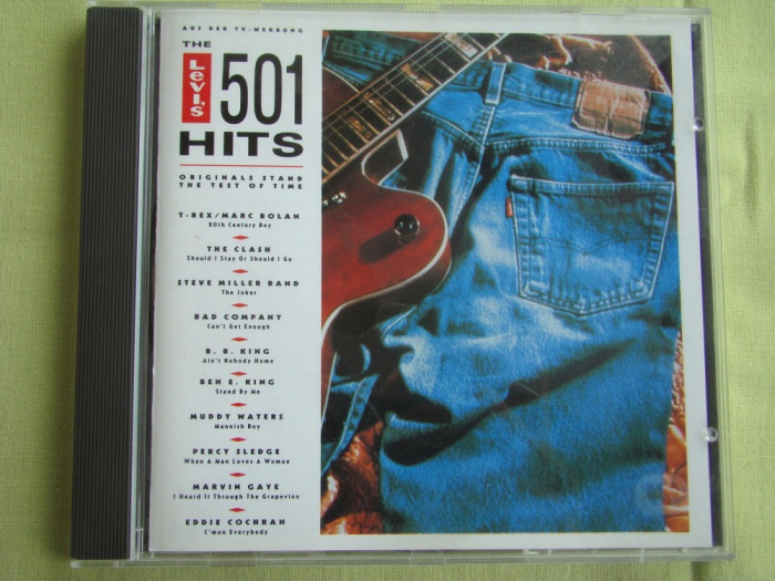THE LEVIS' 501 HITS Vol. 1 and 2 - 2 C D Originale ca NOI