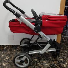 Carucior bebe Peg Perego - Carucior copii Sport Peg Perego, Rosu