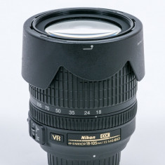Nikon AF-S DX NIKKOR 18-105mm f/3.5-5.6G ED VR - Obiectiv DSLR Nikon, All around, Autofocus, Nikon FX/DX, Stabilizare de imagine