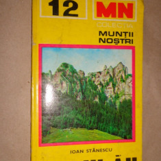 Muntii Ceahlau nr 12 colectia muntii nostri / cu harta