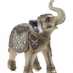 Elefant ceramica auriu color 12x5x13 cm, Cod Produs:2232
