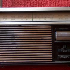 Philips 90 RL 116 (1975) - radio portabil de colecţie ! - Aparat radio