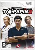 Top Spin 3  - Nintendo Wii [Second hand], Sporturi, 3+, Multiplayer