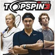 Top Spin 3 - Nintendo Wii [Second hand] - Jocuri WII, Sporturi, 3+, Multiplayer