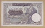 Ocupatia germana in Iugoslavia, 100 dinara 1 mai 1941 necirculata