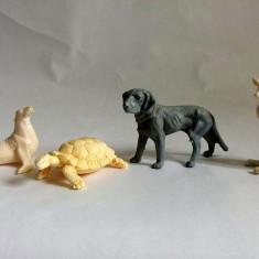 Lot 4 figurine marca Titze, animale, cca 5- 7cm, detalii fine - Figurina Animale