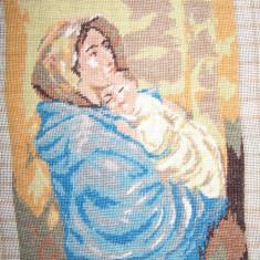 """Goblen """"Madonina"""" de Peruzzi, 130 x 160 puncte, 15 culori, nou."""