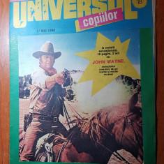 Revista universul copiilor 17 mai 1990