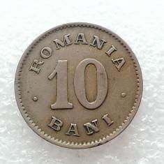 10 BANI 1900-CUPRU-NICHEL-CAROL I REGE - Moneda Romania