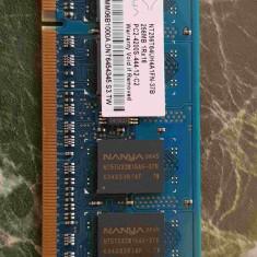 Vand 2 buc DDR2 notebook 256 Mo – pretul dvs = pretul meu - Memorie RAM laptop Nanya