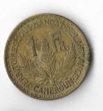 Moneda  1 franc 1925 - Camerun, Africa