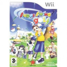 Super Swing Golf - Nintendo Wii [Second hand] - Jocuri WII, Sporturi, 3+, Multiplayer