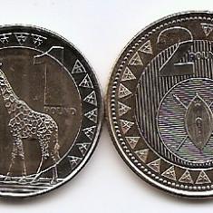 Sudanul de Sud Set 2 - 1, 2 Pounds 2015 - UNC !!!, Africa